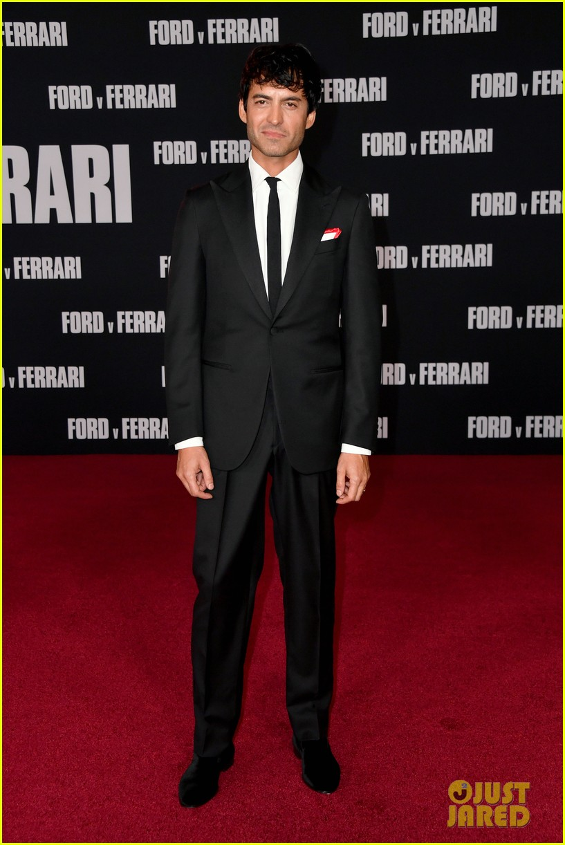 christian bale matt damon suit up ford v ferrari premiere 094382259
