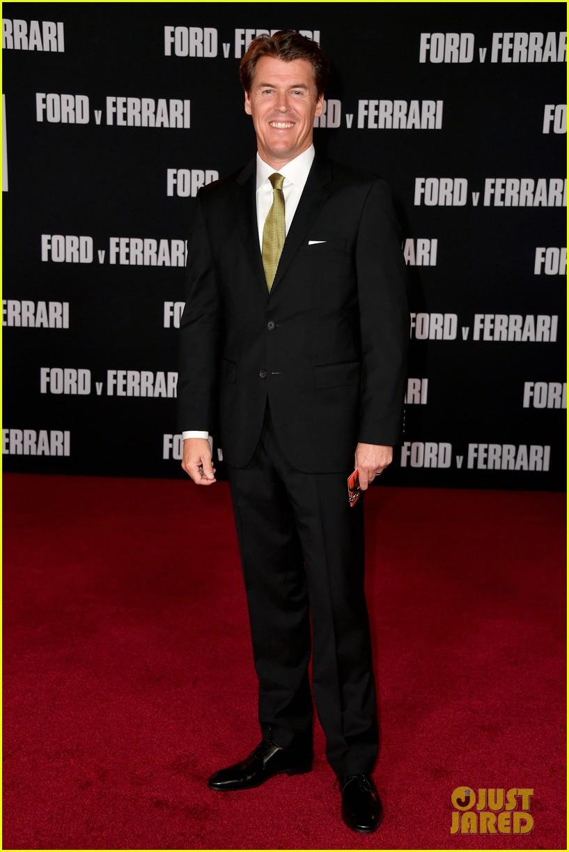 christian bale matt damon suit up ford v ferrari premiere 164382266