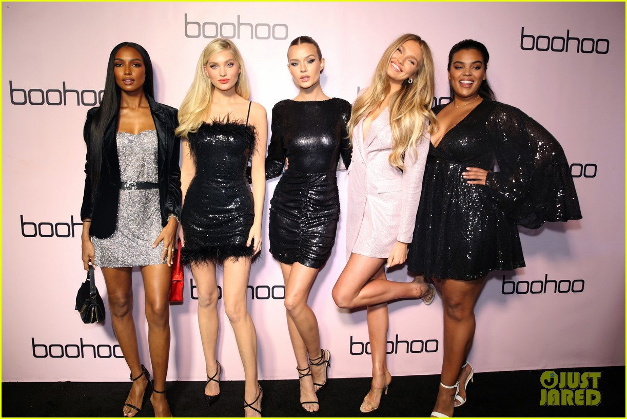 sofia richie alli simpson more boohoo holiday collection party 024384965