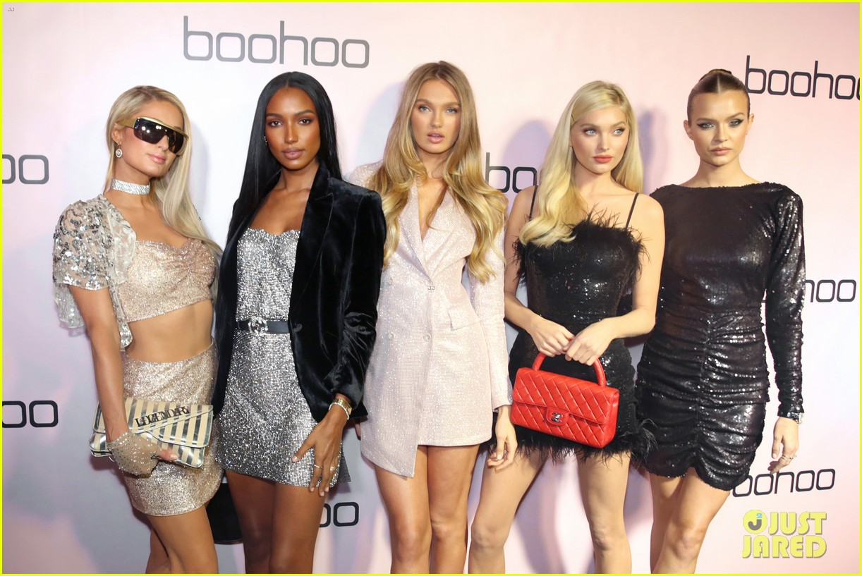 sofia richie alli simpson more boohoo holiday collection party 334384996