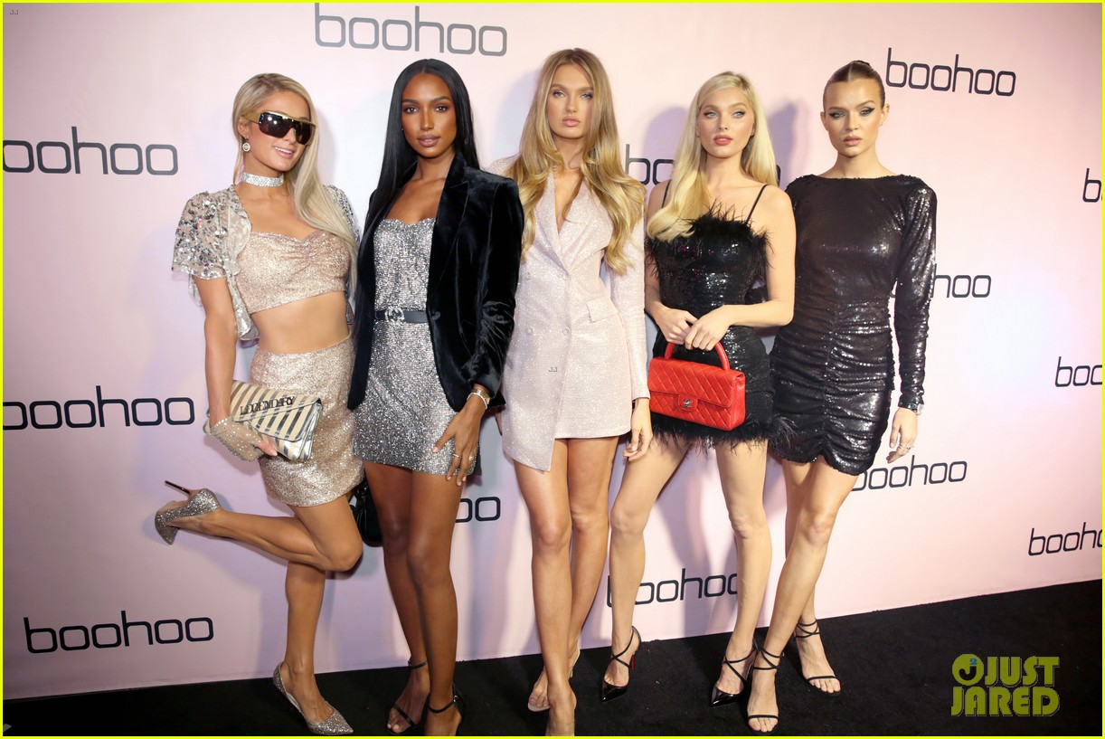 sofia richie alli simpson more boohoo holiday collection party 444385007