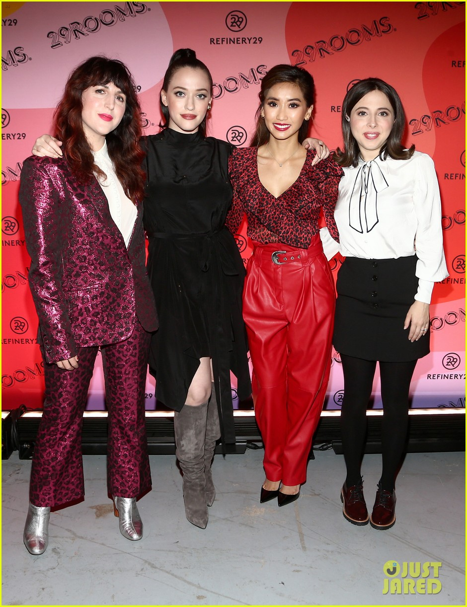 kat dennings brenda song ester povitsky bring dollface to 29rooms event 084385672