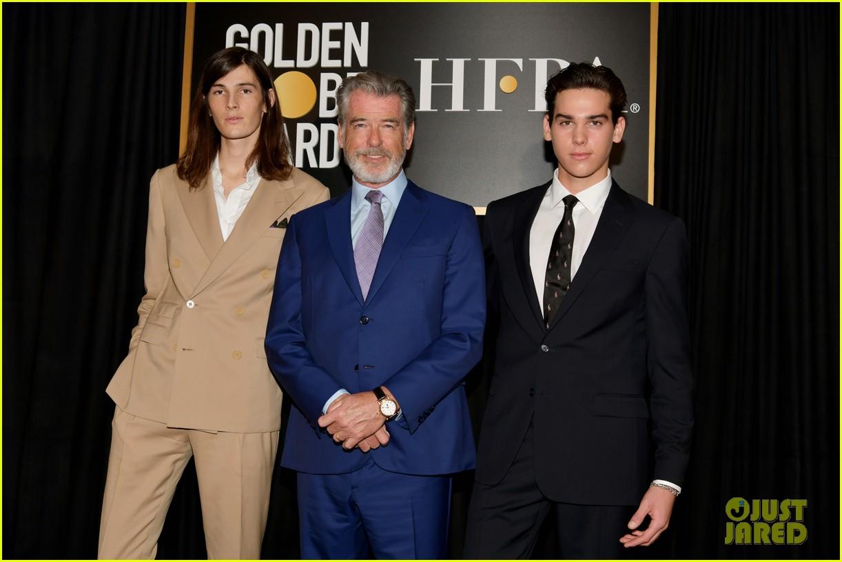 pierce brosnans sons dylan paris named golden globes ambassdors 2020 034388329