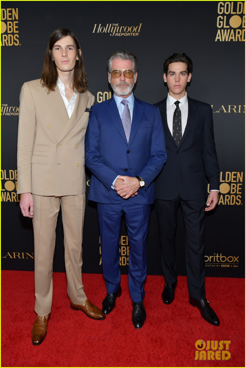 pierce brosnans sons dylan paris named golden globes ambassdors 2020 054388331