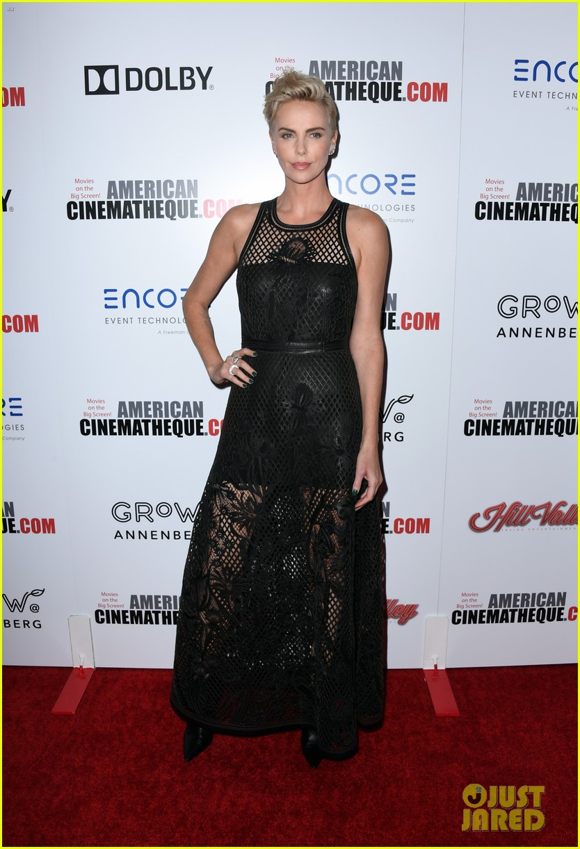 charlize theron honored with american cinematheque award 074385129