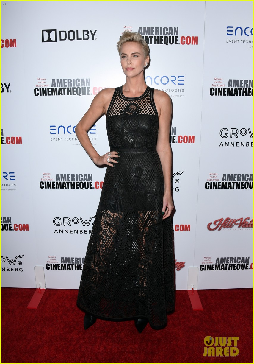 charlize theron honored with american cinematheque award 084385130