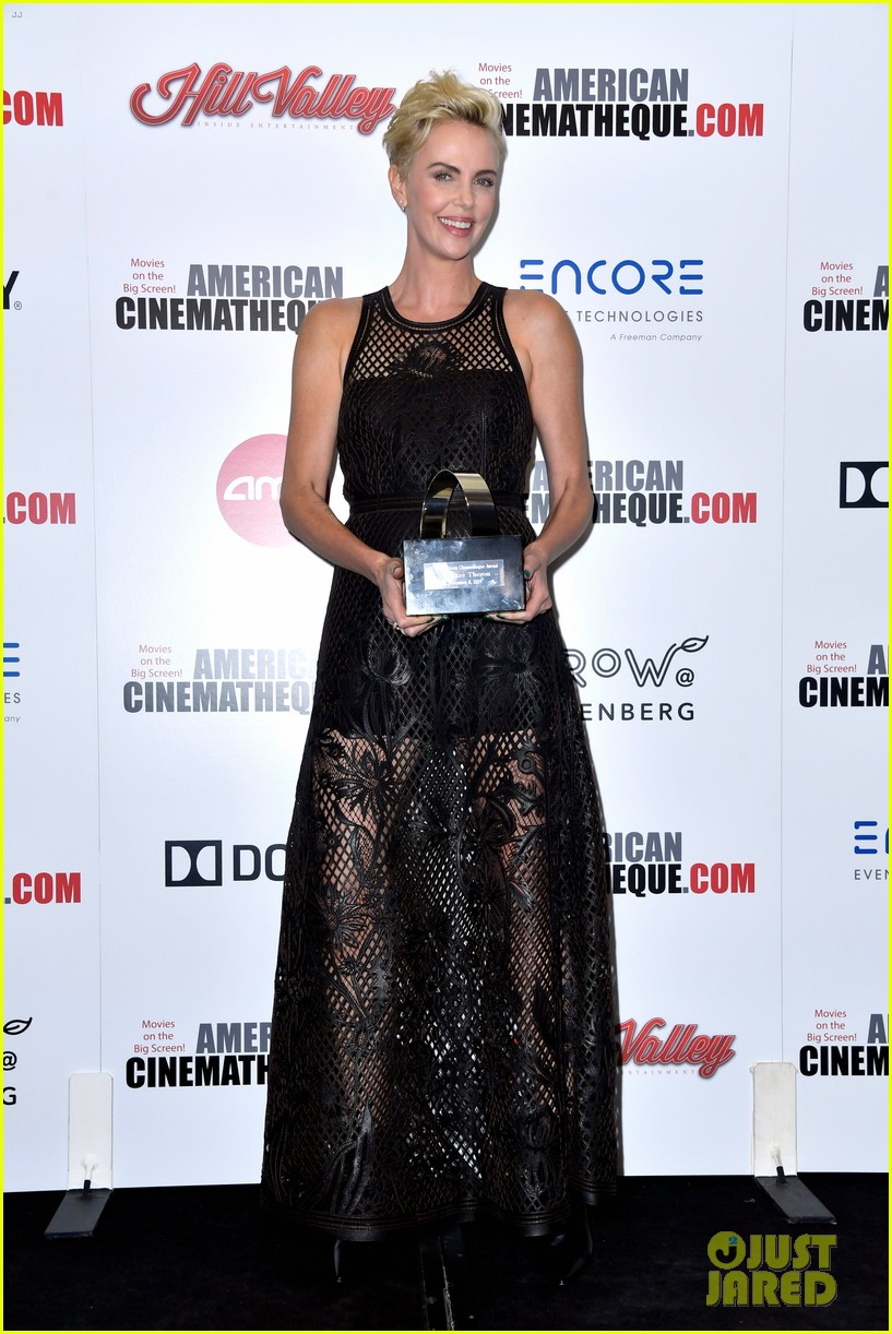 charlize theron honored with american cinematheque award 114385133