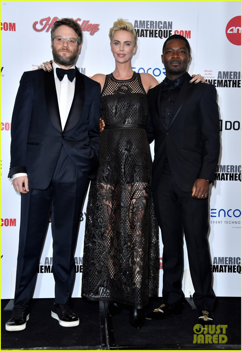 charlize theron honored with american cinematheque award 134385135