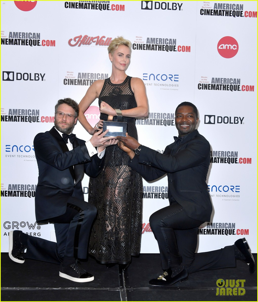 charlize theron honored with american cinematheque award 144385136