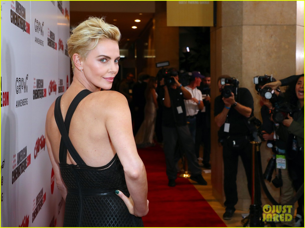 charlize theron honored with american cinematheque award 164385138