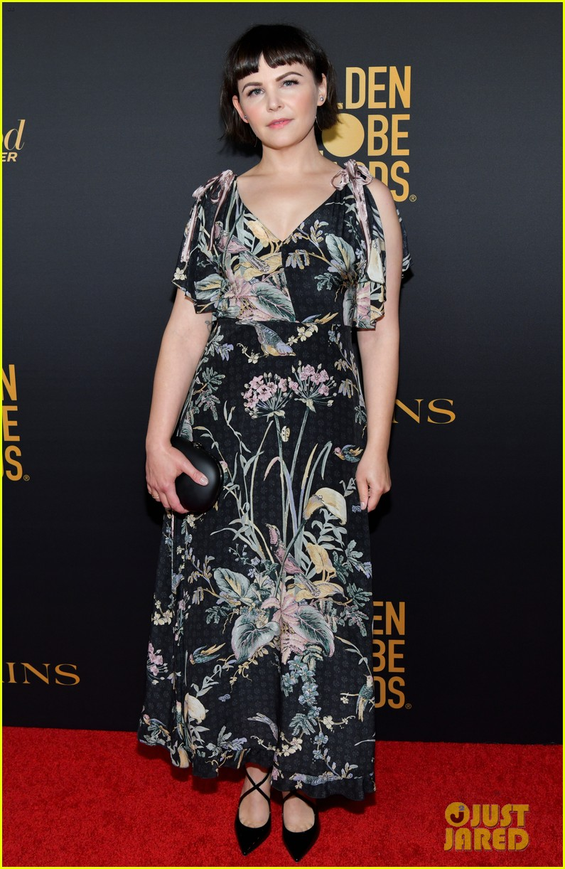 emilia clarke others at hfpa party 484388793