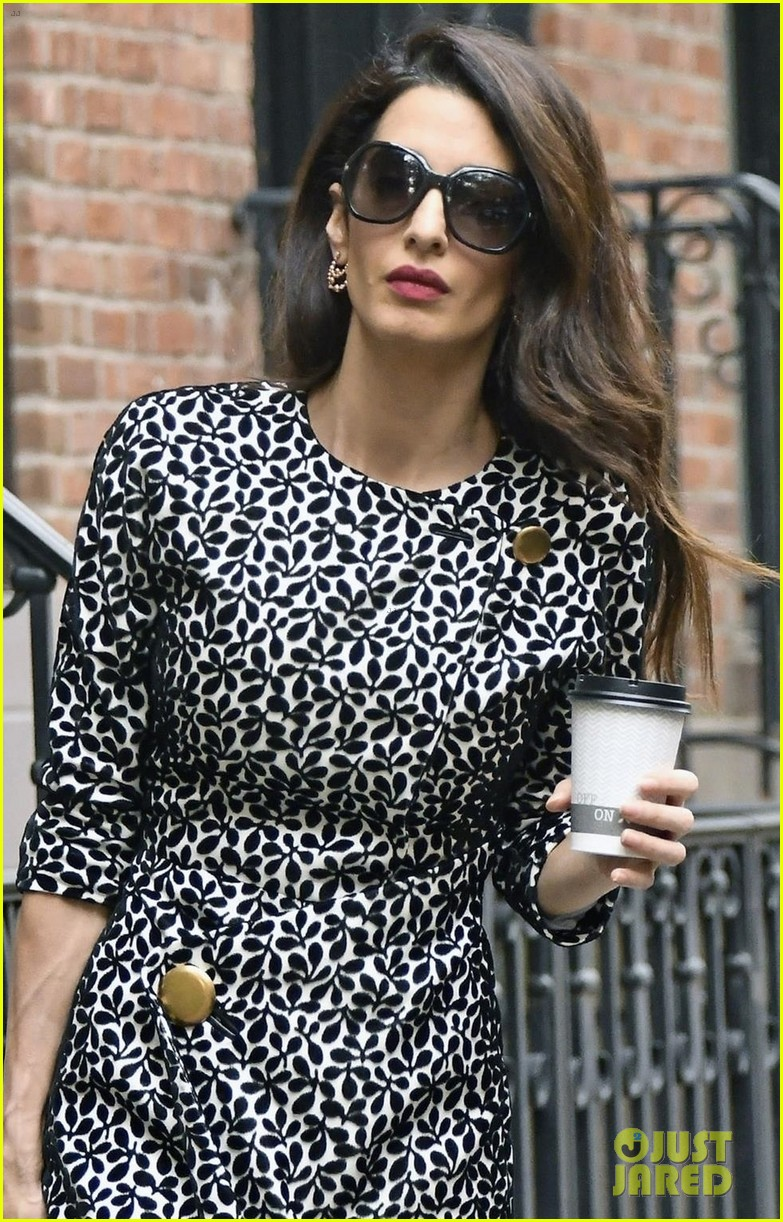amal clooney heads to work at columbia law school 044380892