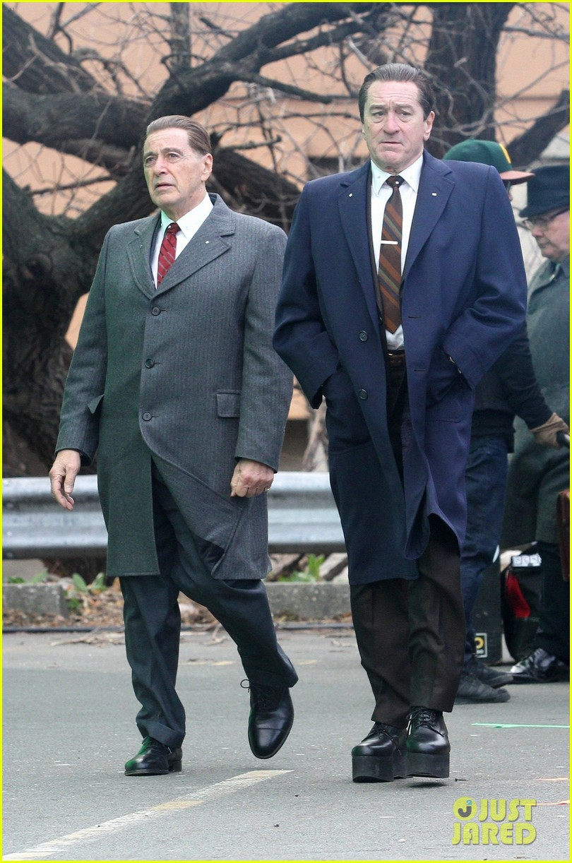 robert de niro looks tall the irishman 224395465