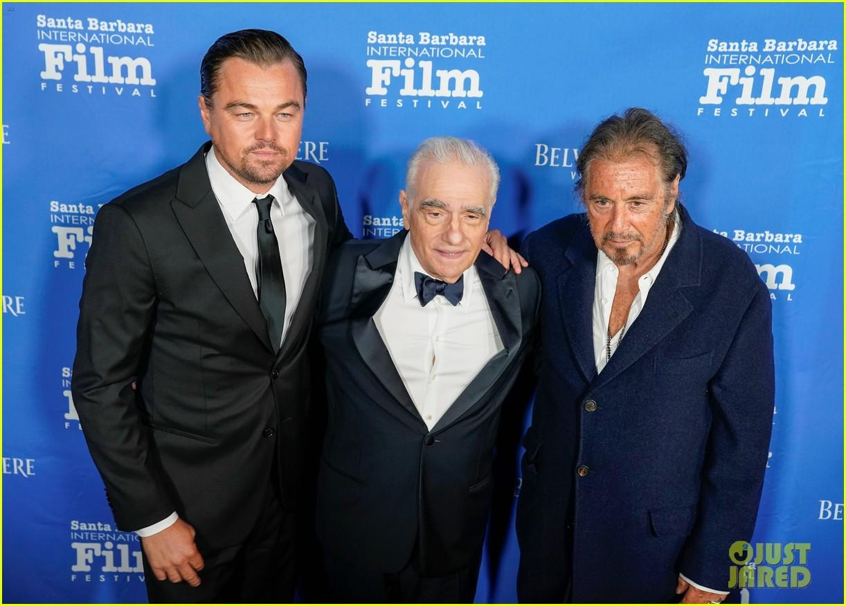 leonardo dicaprio honors martin scorsese at santa barbara film festival 034388641
