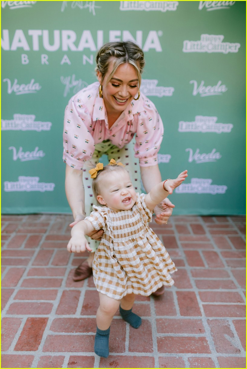 hilary duff daughter banks happy little camper launch 014386404