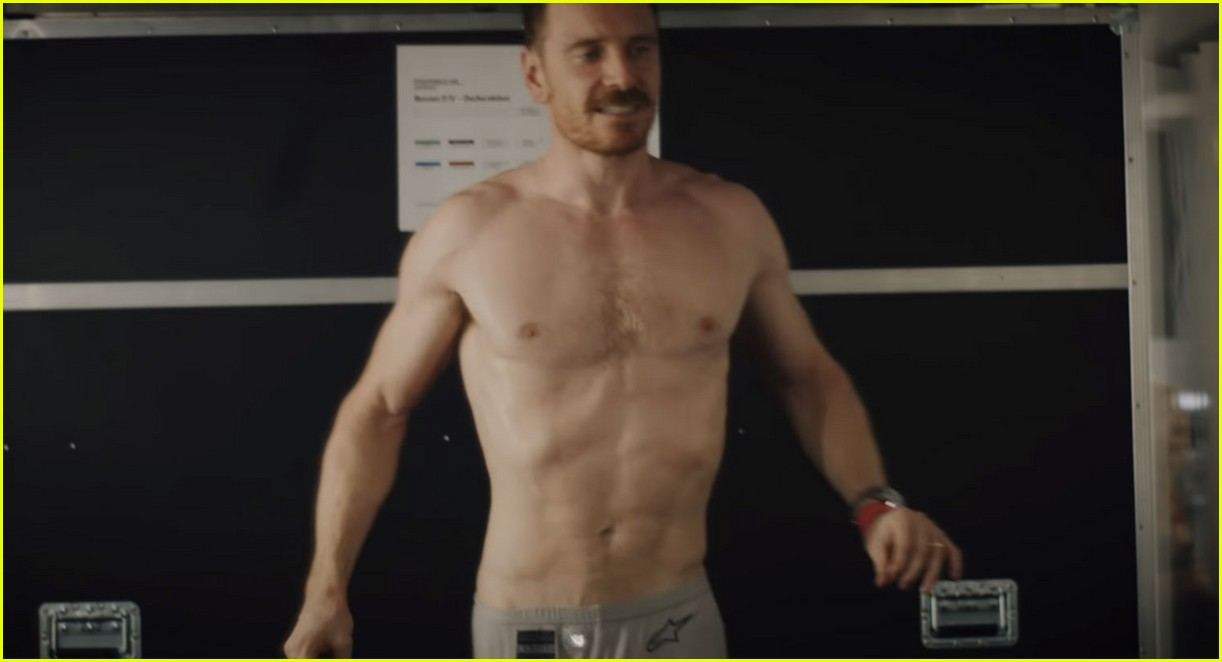 Michael Fassbender Goes Shirtless in New Web-Series for