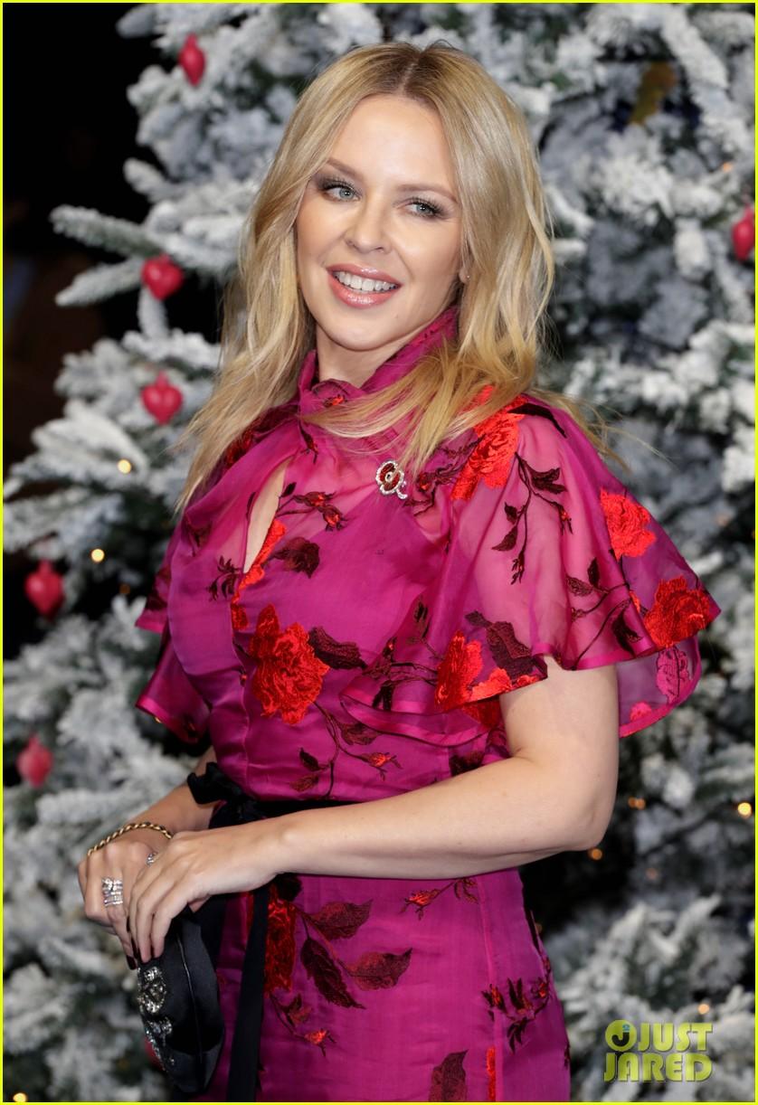 emilia clarke henry golding emma thompson celebrate uk premiere of last christmas 134386381