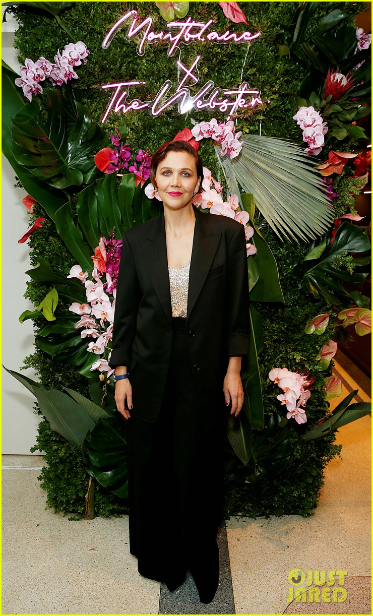 maggie gyllenhaal peter sarsgaard montblanc the webster launch 014383000