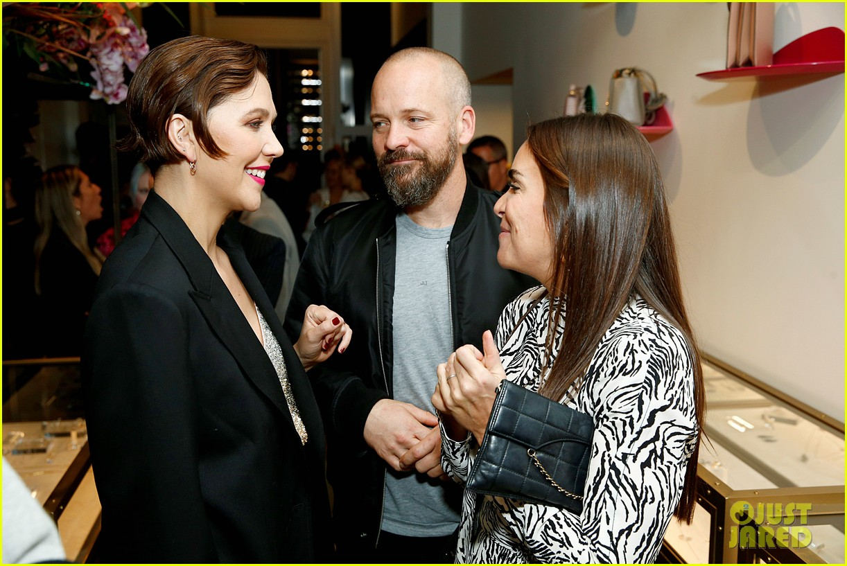 maggie gyllenhaal peter sarsgaard montblanc the webster launch 074383006