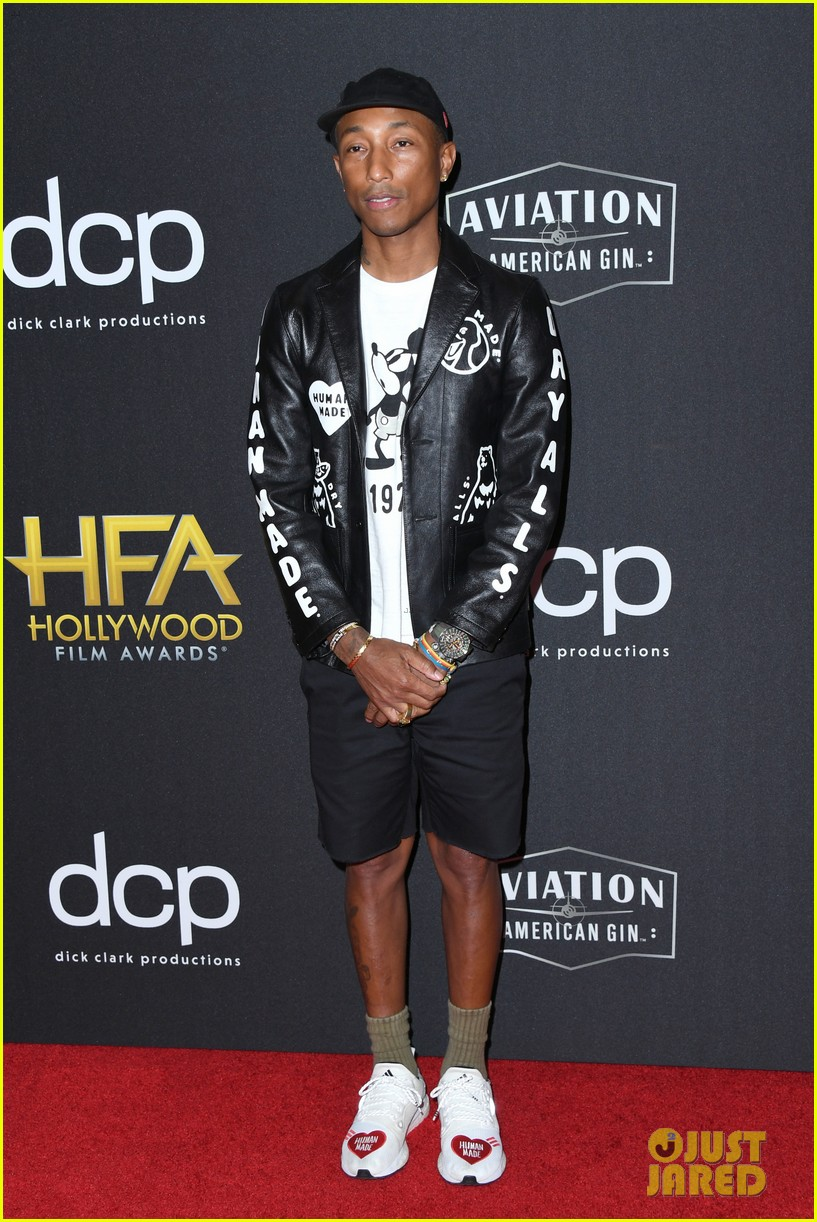 alicia keys honors pharrell williams letter to my godfather at hollywood film awards 2019 134381744