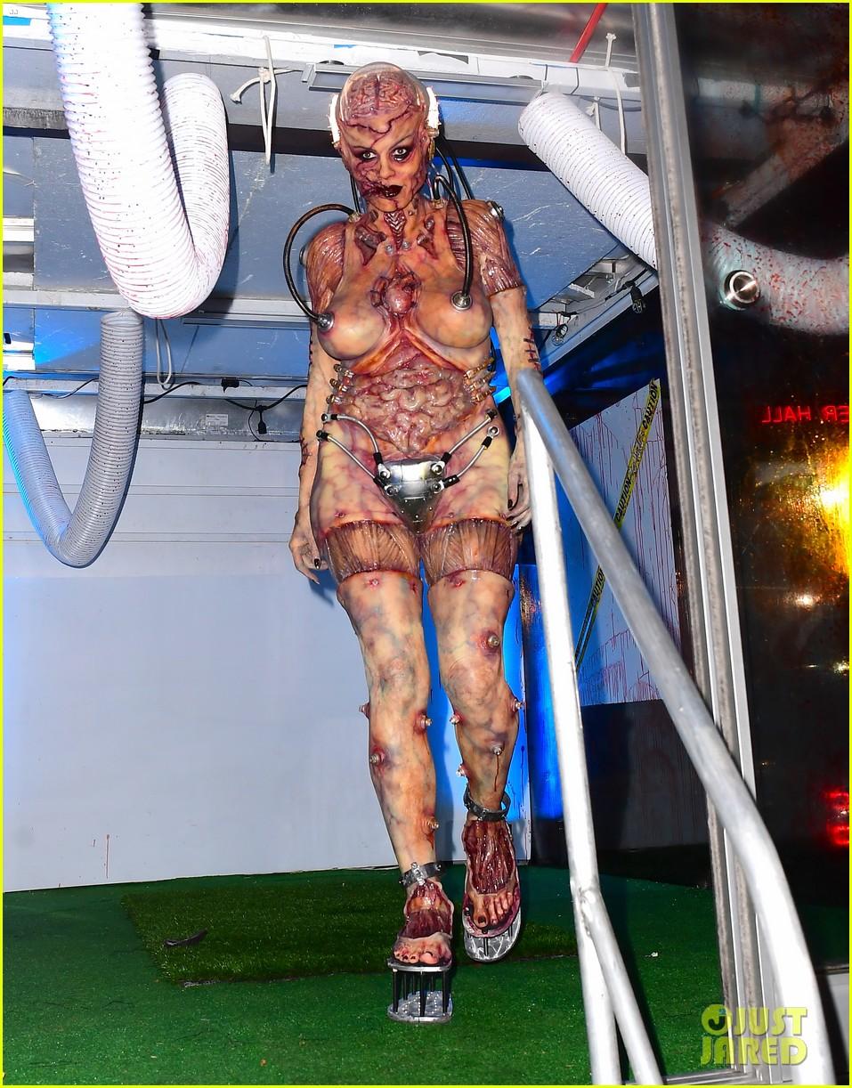 heidi klum tom kaulitz halloween party 054380137