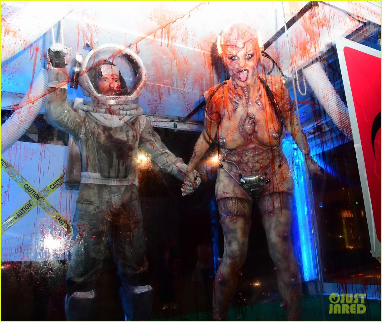 heidi klum tom kaulitz halloween party 084380140