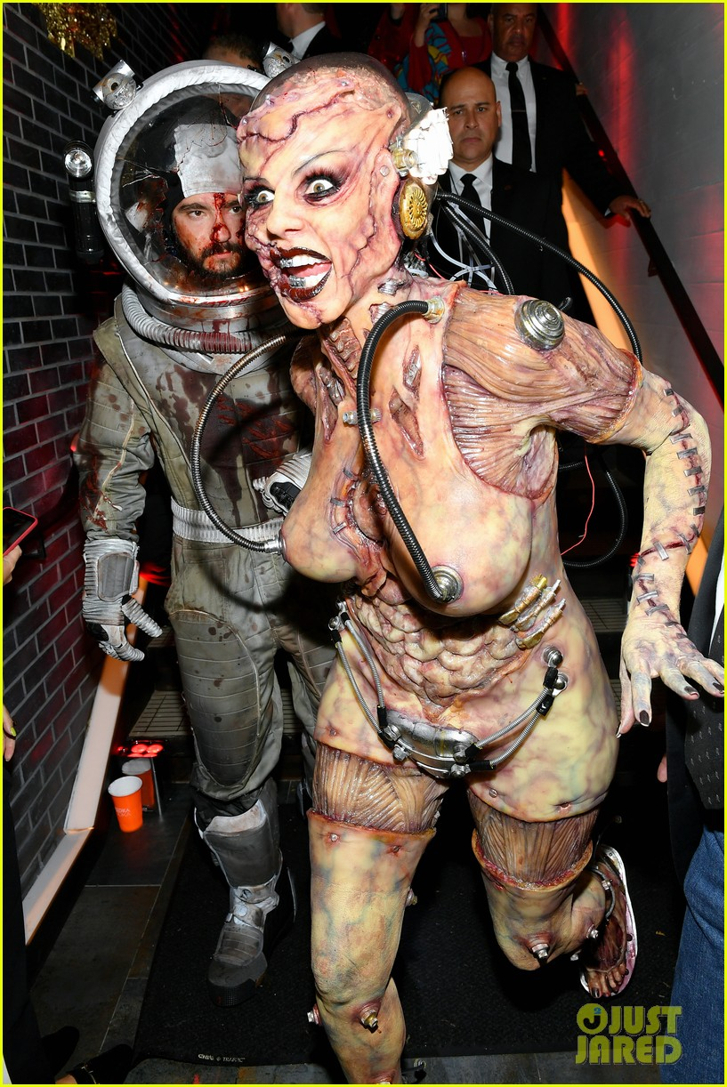heidi klum tom kaulitz halloween party 214380194