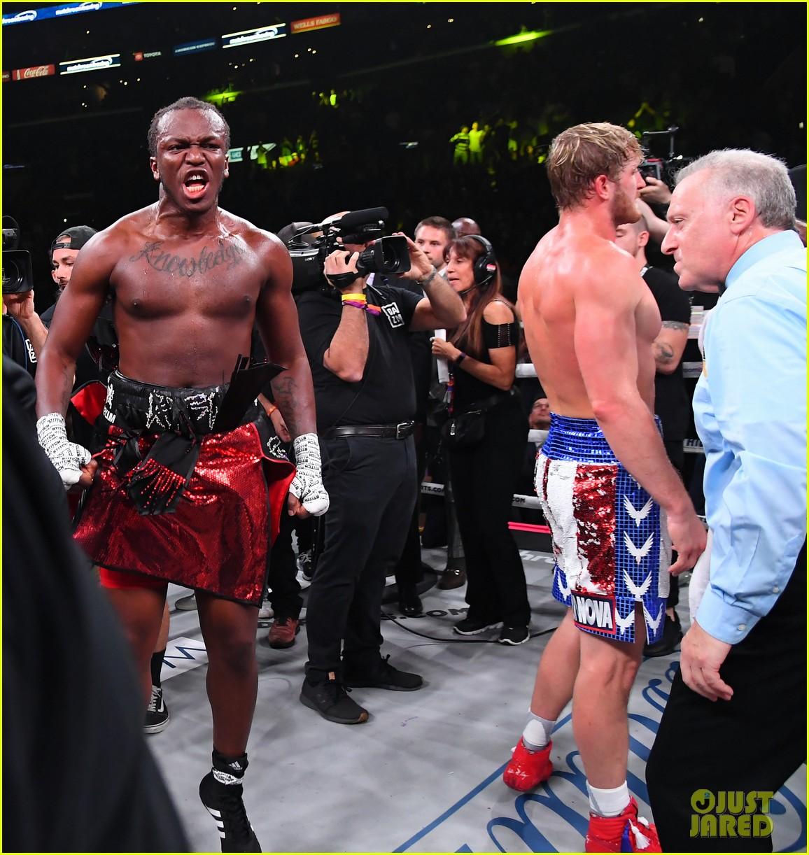 Logan Paul Congratulates Ksi After Losing Boxing Rematch