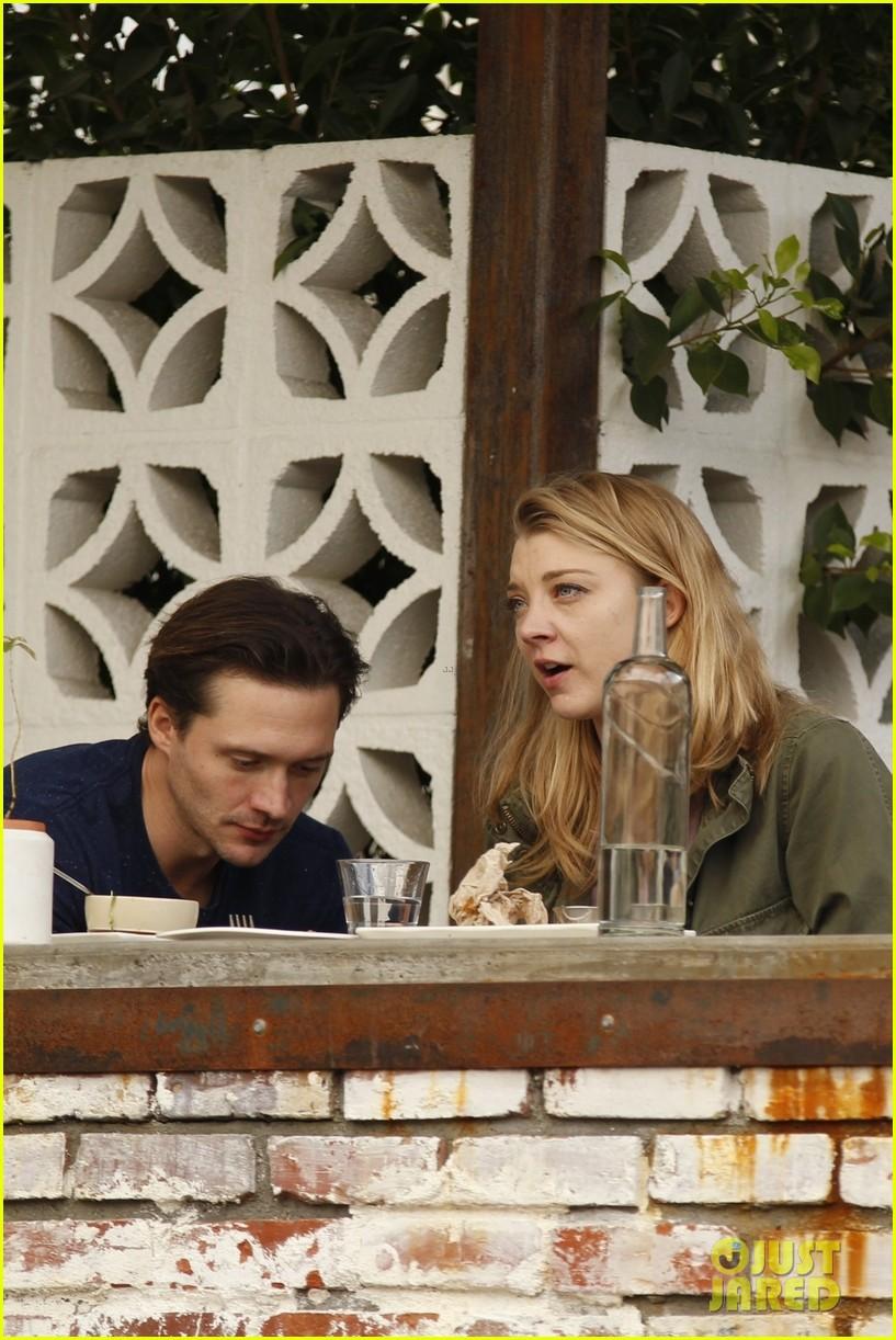 Natalie Dormer & Boyfriend David Oakes Get Cozy at Lunch ...