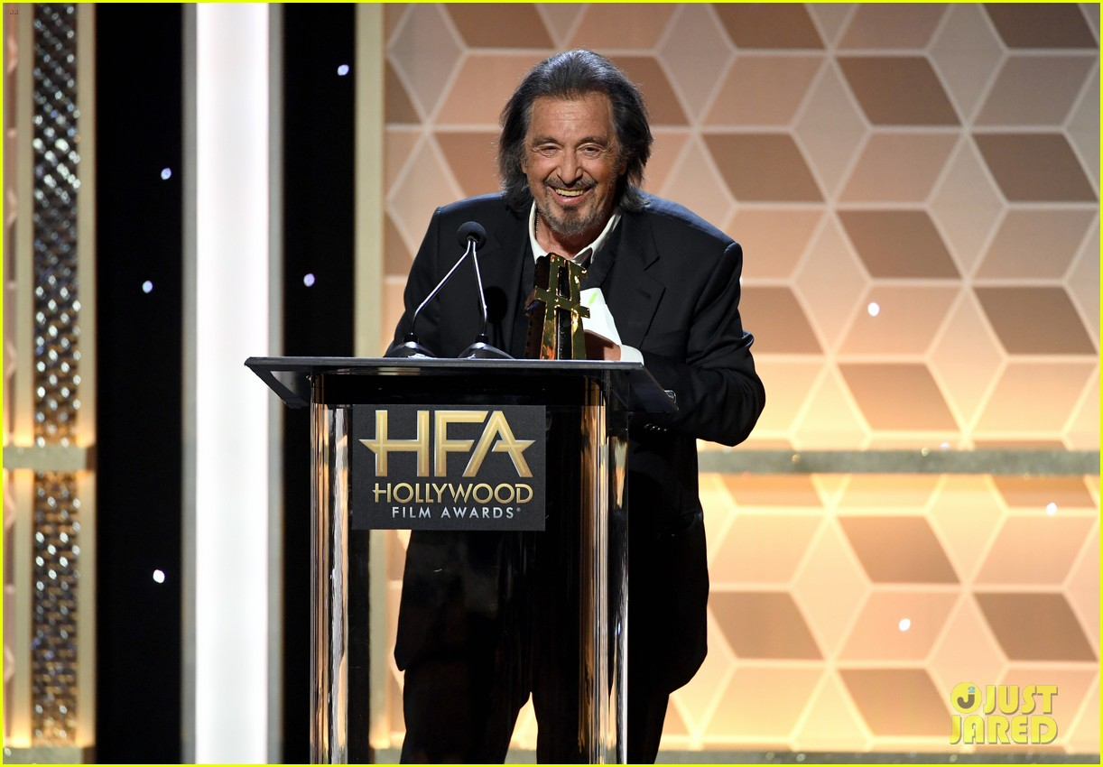 al pacino martin scorsese celebrate the irishman hollywood film awards 054381845