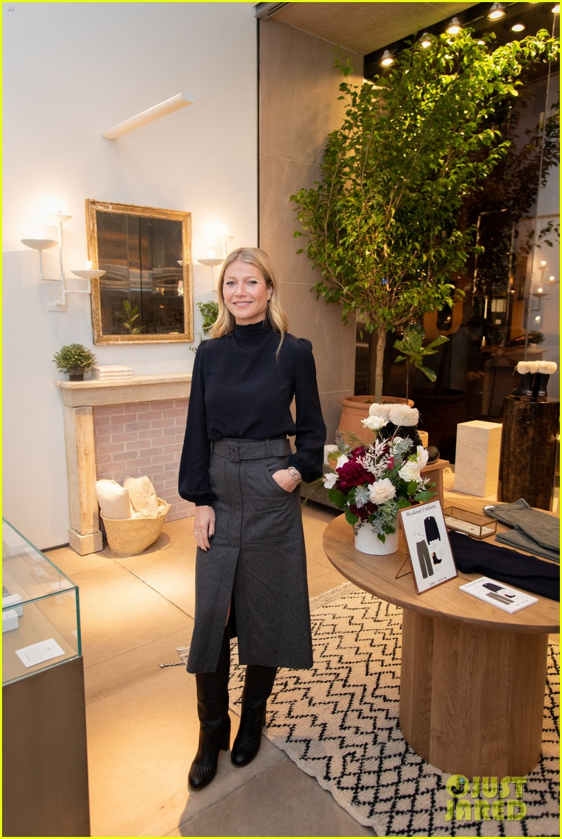 gwyneth paltrow hosts launch of goop market chicago 034384859