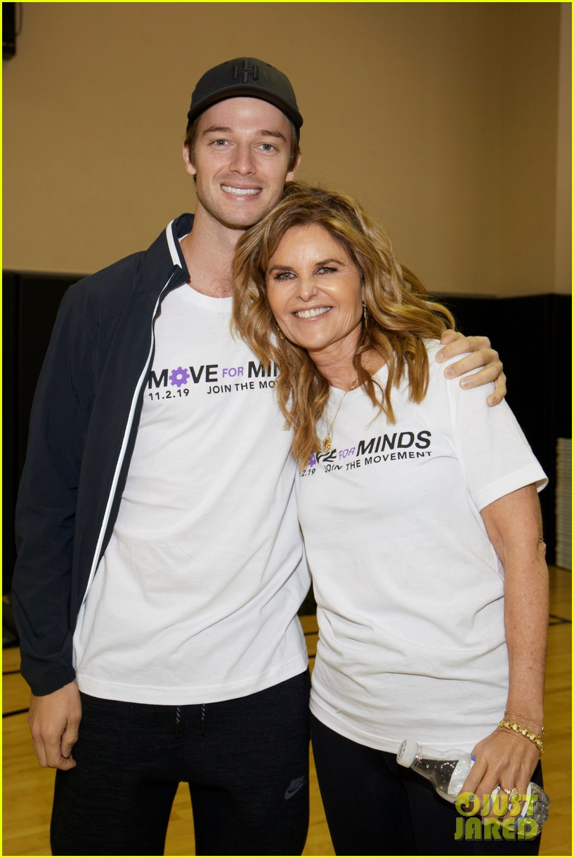 maria shriver patrick christina katherine schwarzenegger move for minds 014380870
