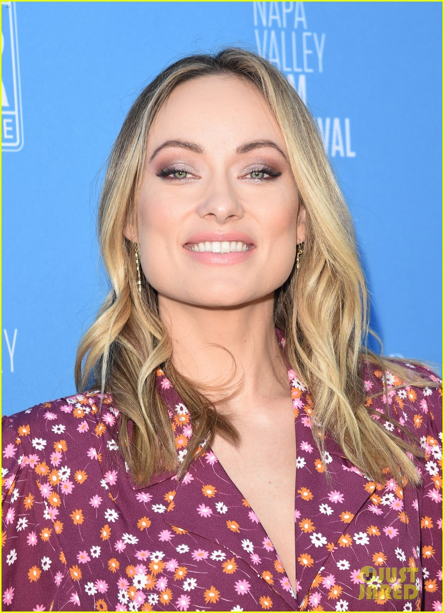 olivia wilde raymond vineyards trailblazer award napa film fest 084389397
