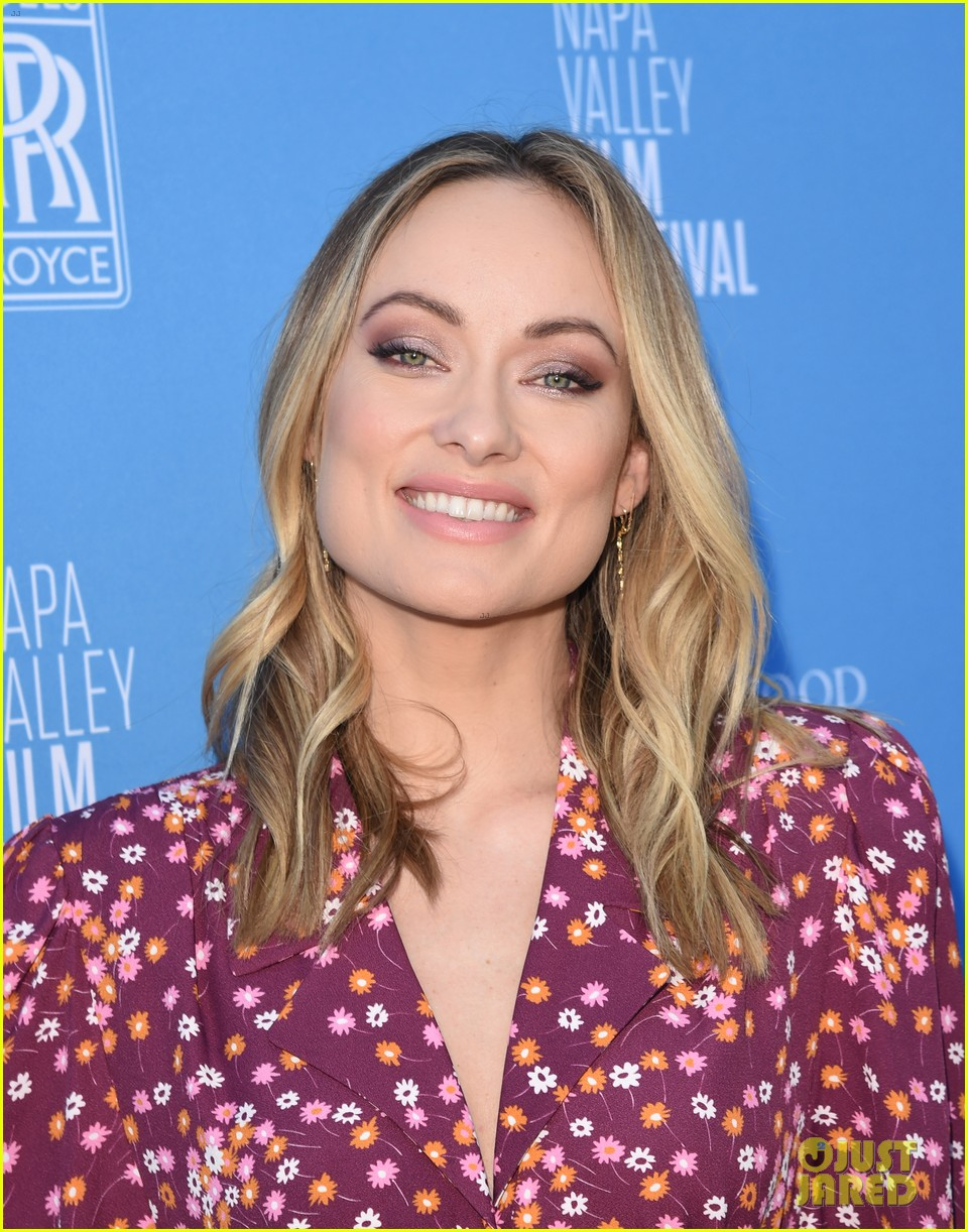 olivia wilde raymond vineyards trailblazer award napa film fest 104389399