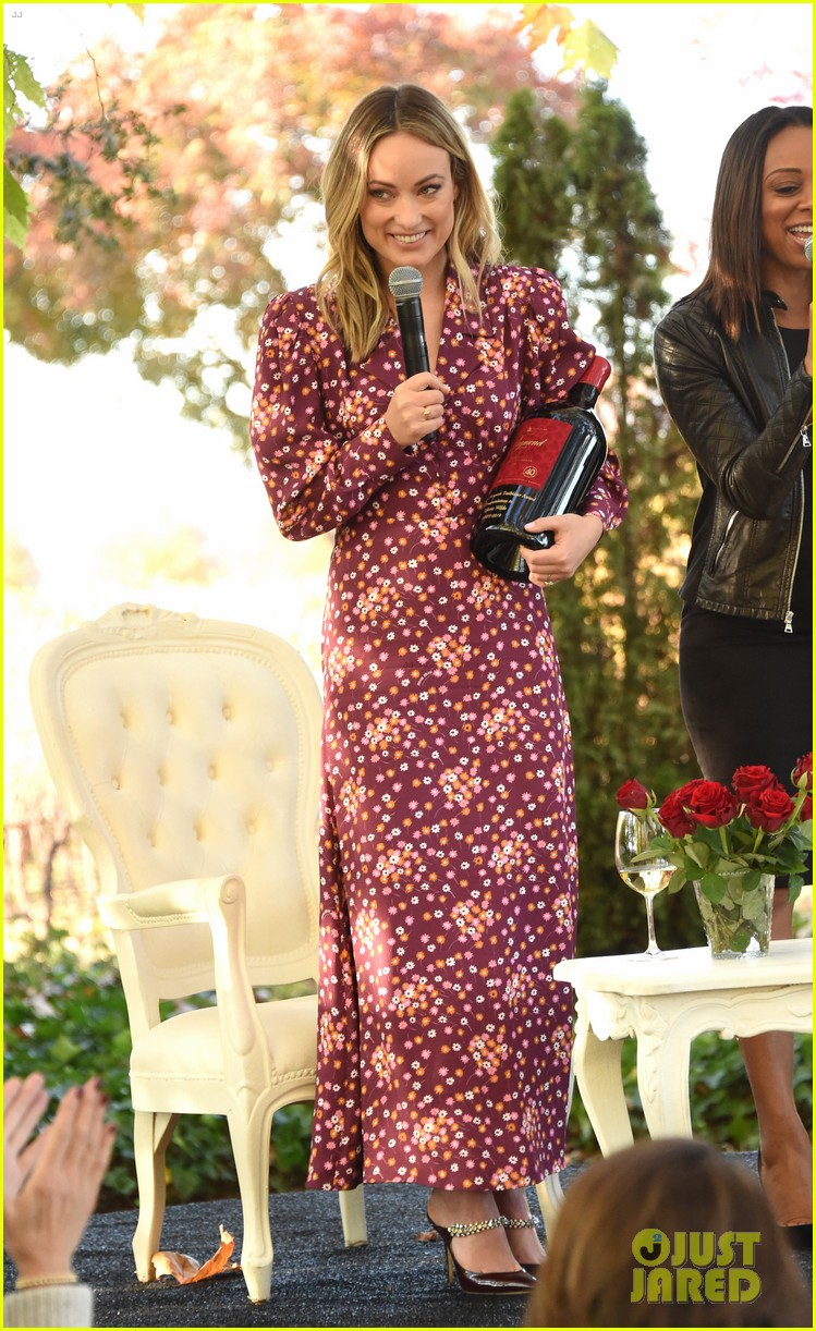 olivia wilde raymond vineyards trailblazer award napa film fest 264389415