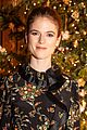 rose leslie ellie bamber tory burch holiday party 04