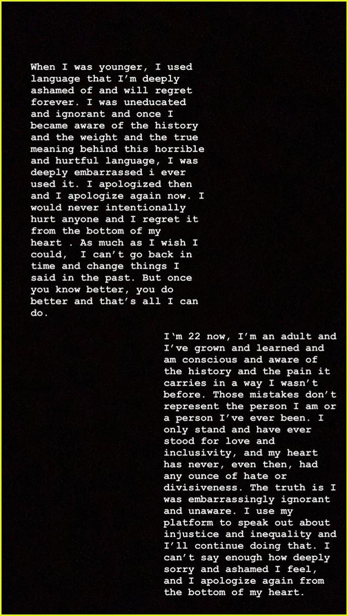"Resultado de imagen de Camila Cabello Apologizes for Past Offensive Language: 'I Was Embarrassingly Ignorant'"""