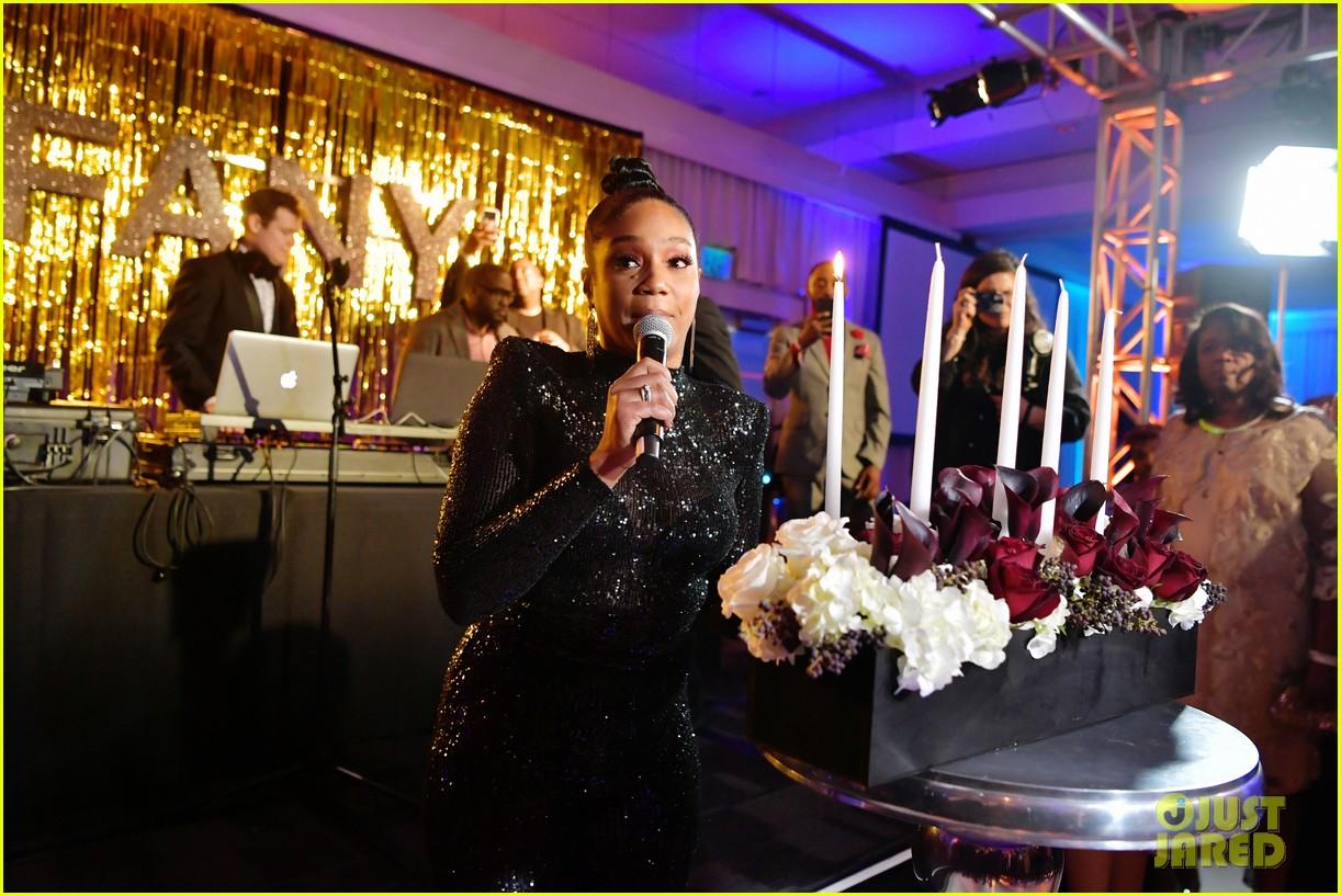 tiffany haddish celebrates her birthday with black mitzvah netflix special party 264397682