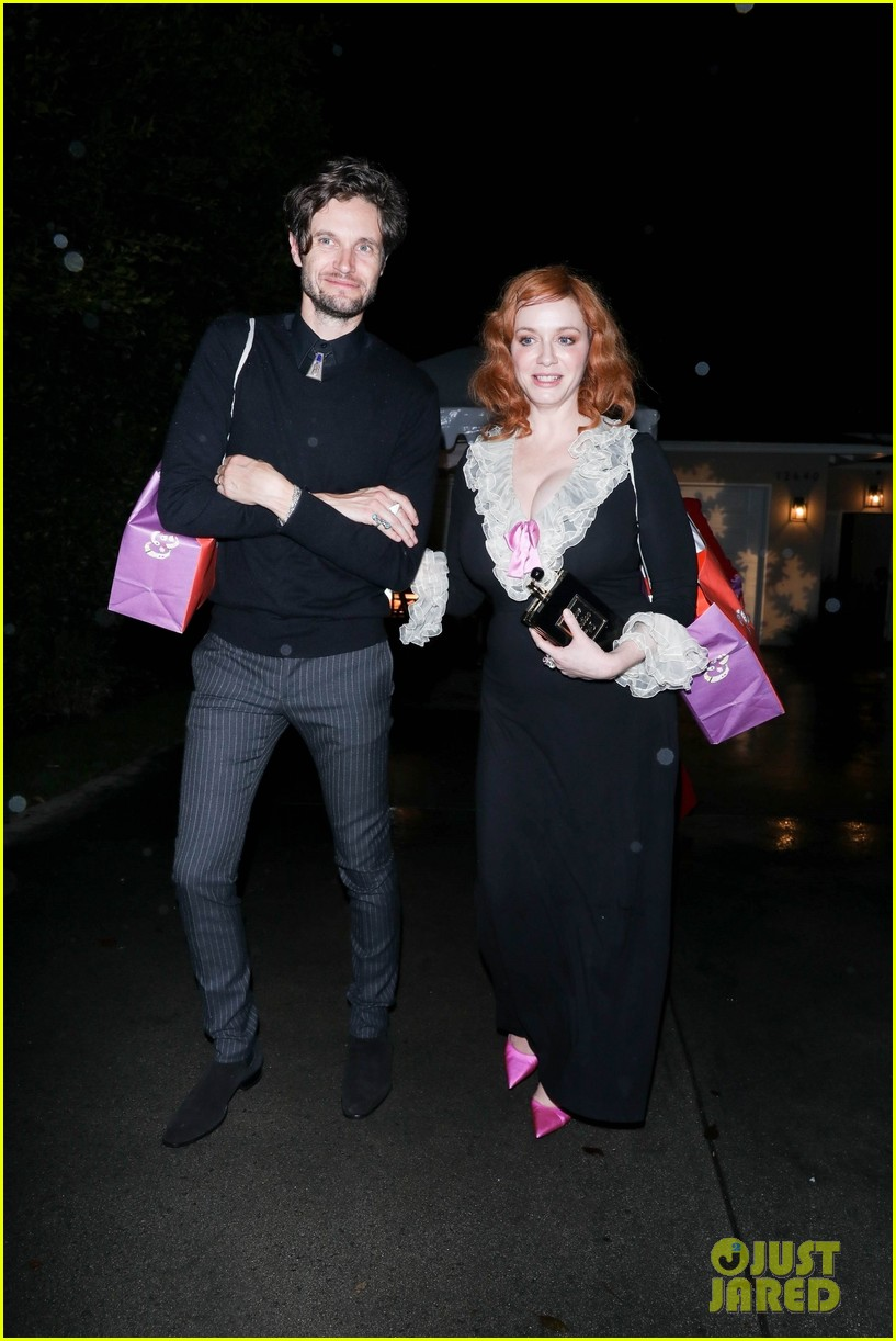 christina hendricks jennifer klein party 114400565