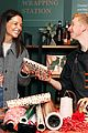 katie holmes brings holiday cheer at frederick wildman wines wrappy hour 20