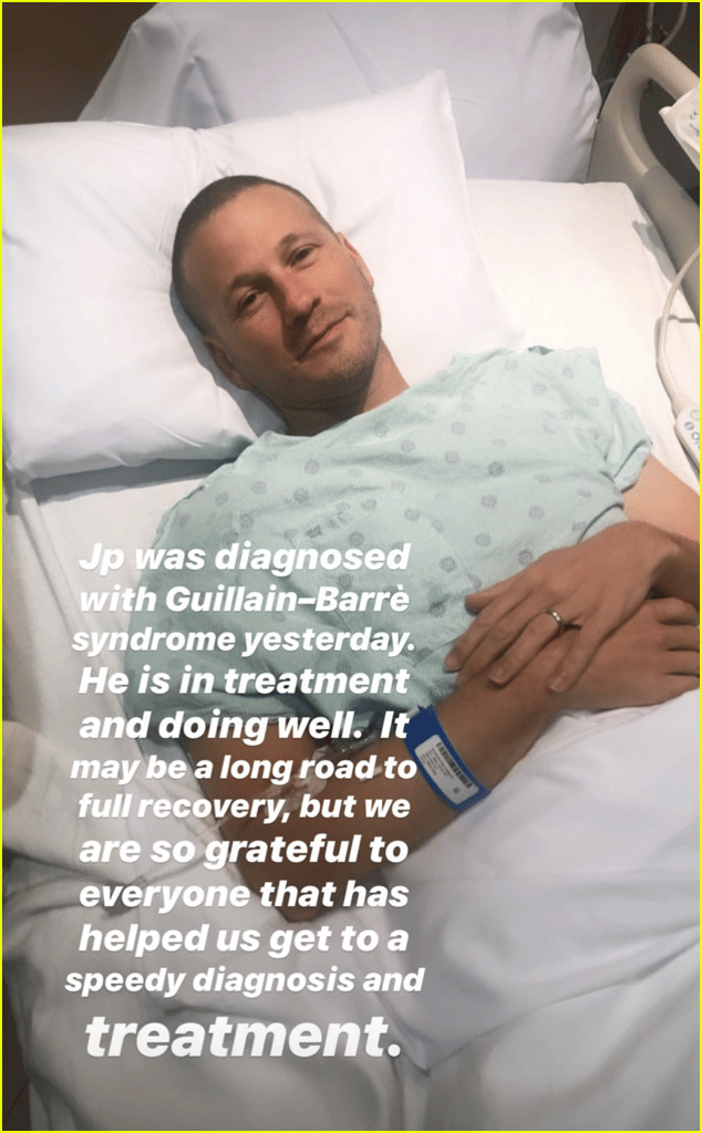 jp rosenbaum diagnosed with Guillain Barre Syndrome4400223