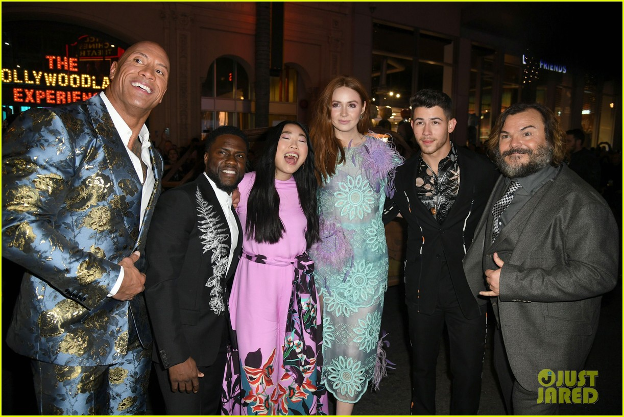 jumanji the next level premiere 034400698