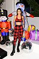 kendall jenner buffalo check pjs ck party 03
