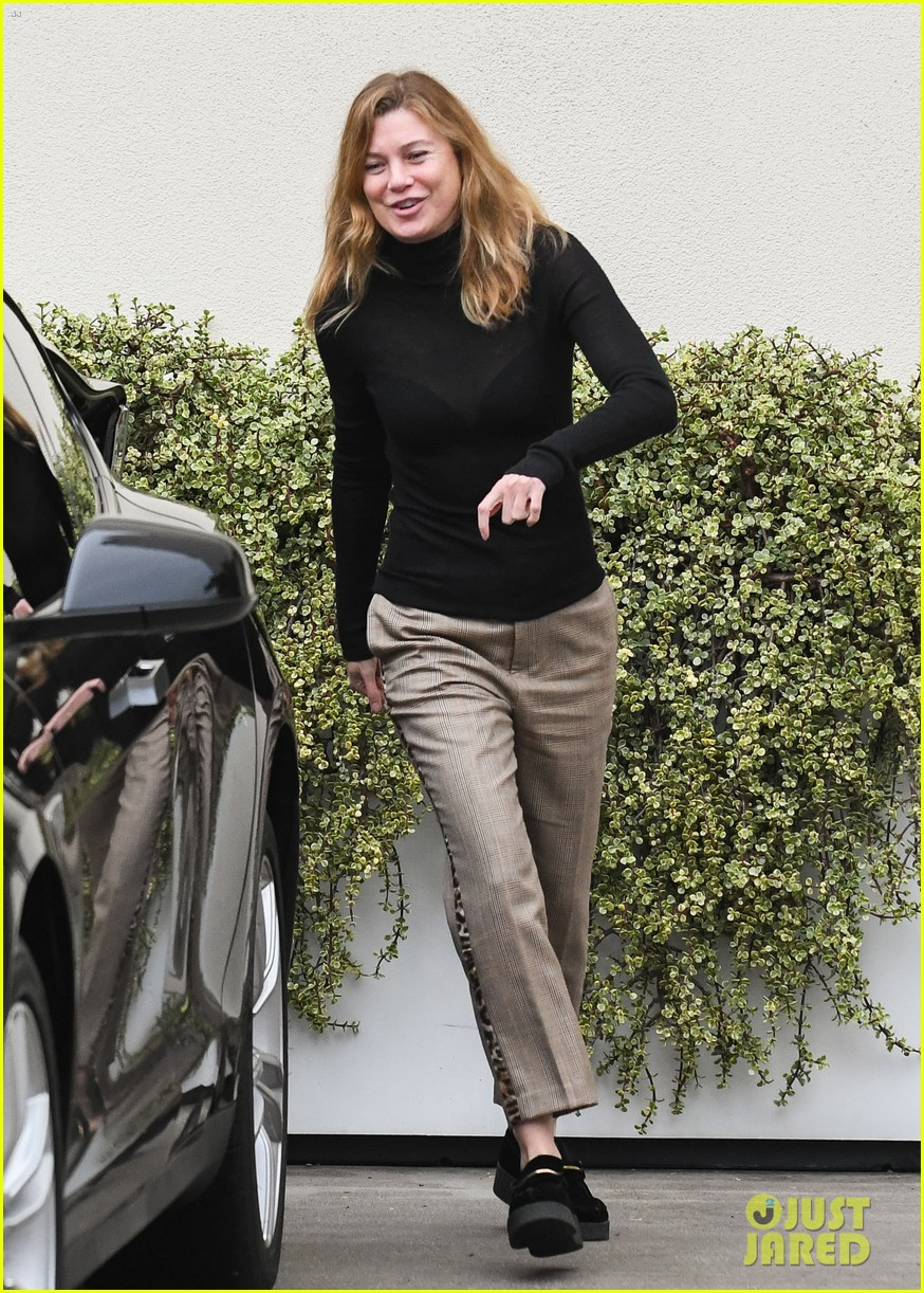 ellen pompeo all smiles during afternoon outing 034400342