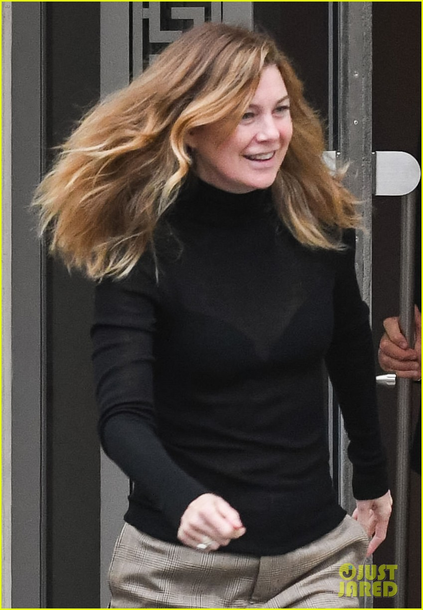 ellen pompeo all smiles during afternoon outing 044400343