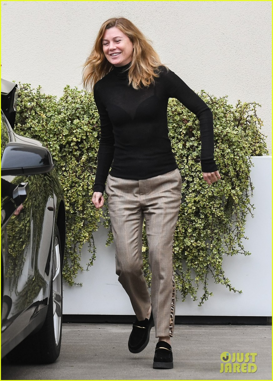 ellen pompeo all smiles during afternoon outing 054400344