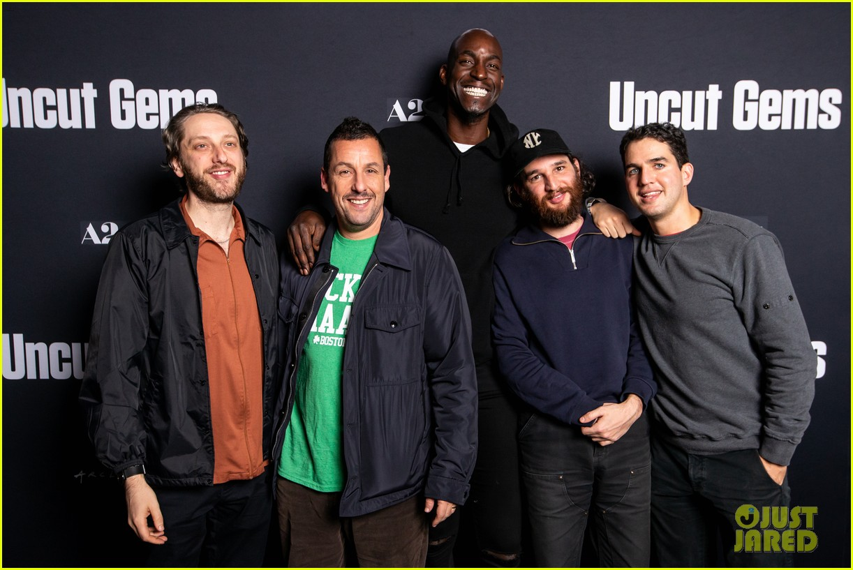adam sandler premieres uncut gems in boston 114400316