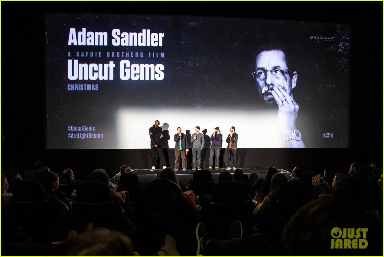 adam sandler premieres uncut gems in boston 134400318