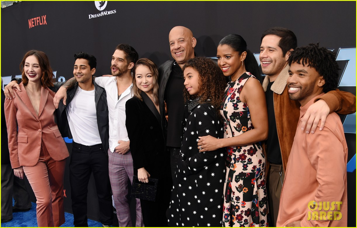 vin diesel supports daughter similce fast furious spy racers premiere 054399877