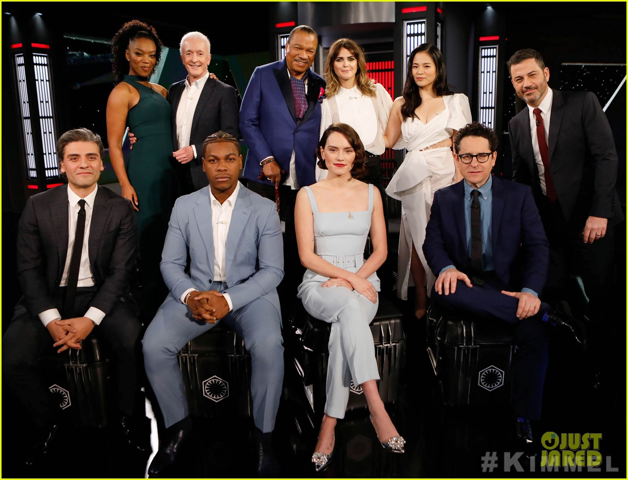 Star Wars The Rise Of Skywalker Cast Faces Off In Family Feud On Kimmel Photo 4404557 Anthony Daniels Billy Dee Williams Daisy Ridley J J Abrams Jimmy Kimmel John Boyega Kelly Marie